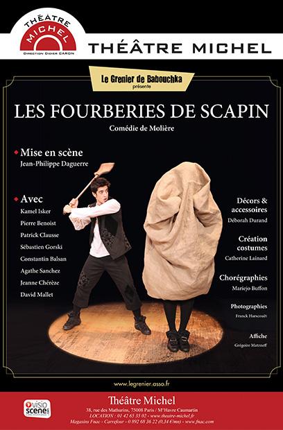 _-Affiche_scapin_theatre_michel