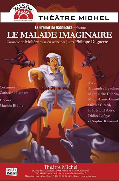 affiche-le-malade-imaginaire-theatre-michel