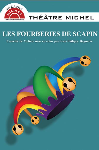 affiche-les-fourberies-de-scapin-theatre-michel