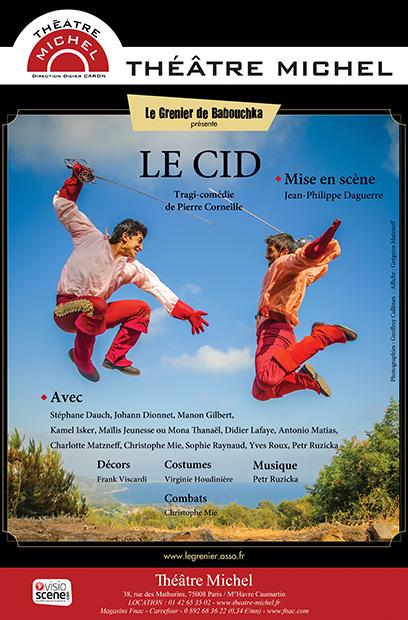 Affiche-LE-CID-theatre-michel