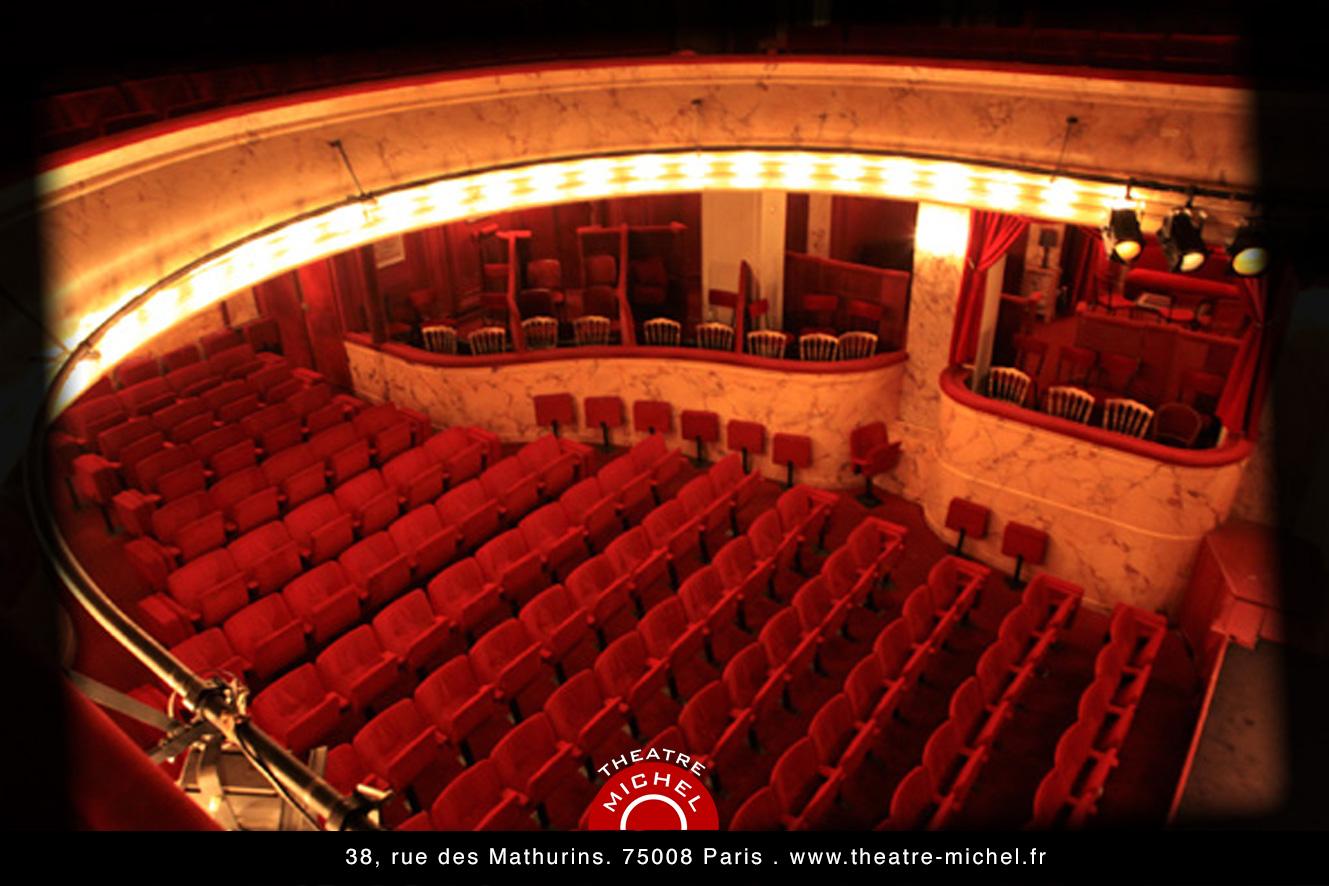 Th tre michel l 39 crin de la com die - Plan salle theatre porte saint martin ...